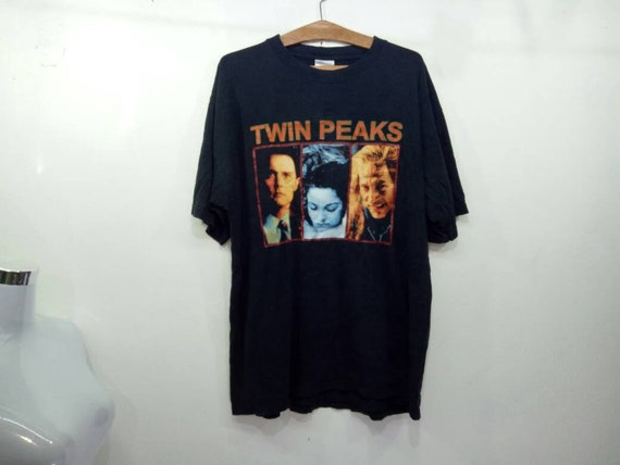Rare!! Vintage Twin Peaks Shirt Who Killed Laura P