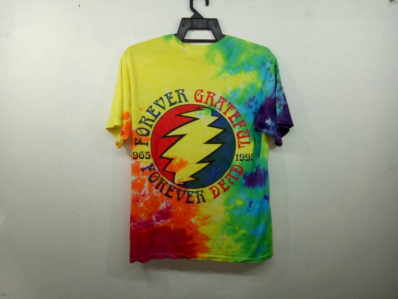 Rare! Vintage Grateful Dead Forever 1995 Tie Dye Small Size