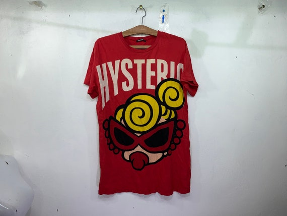 Hysteric Glamour Spellout Big Image logo