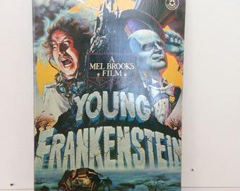 Vintage Young Frankenstein Book - Paperback