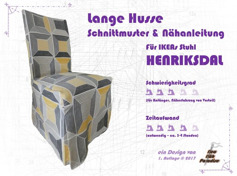 HENRIKSDAL v Ikea langPattern & ebook/sewing Instructions image 0