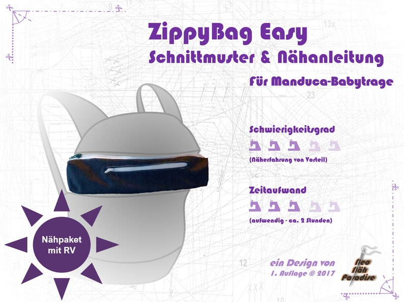 ZippyBag Easy-Nähpaket  pattern image 0
