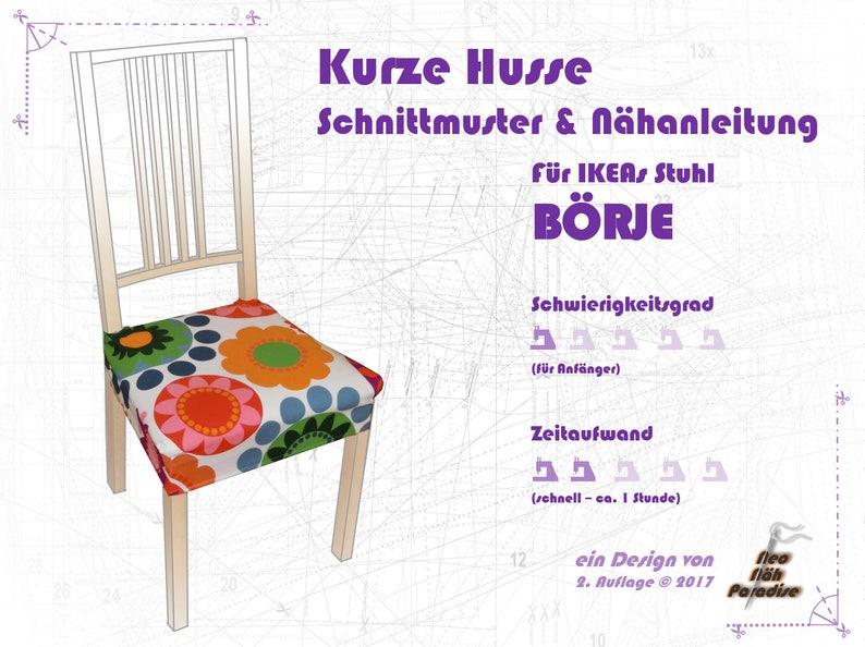 BÖRJE from Ikea-pattern & ebook/sewing Instructions Cover image 0