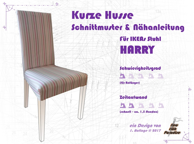 Harry from Ikea-pattern & ebook/sewing instructions Husse image 0
