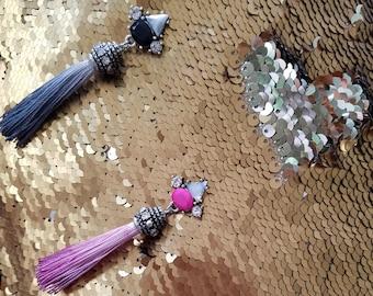 Tassel Bling Earrings