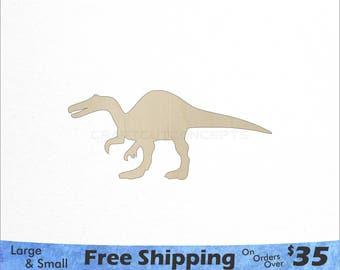 4fe098ac Large Dinosaur Shape - Large & Small - Pick Size - Laser Cut Unfinished  Wood Cutout Shapes (SO-0033)