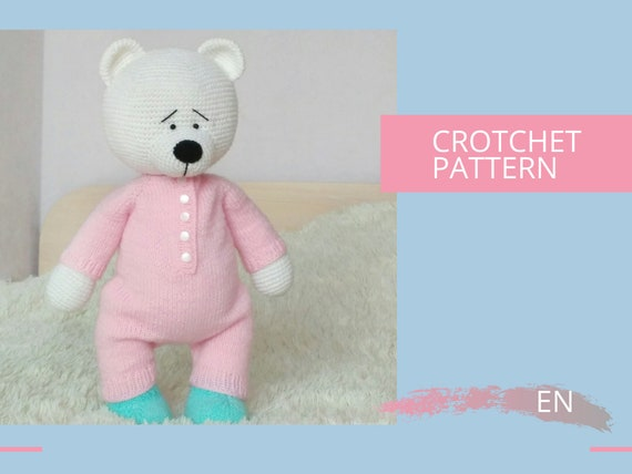 Amigurumi Teddy Bear Crochet Pattern » No:1 Patterns By HavvaDesigns | 428x570