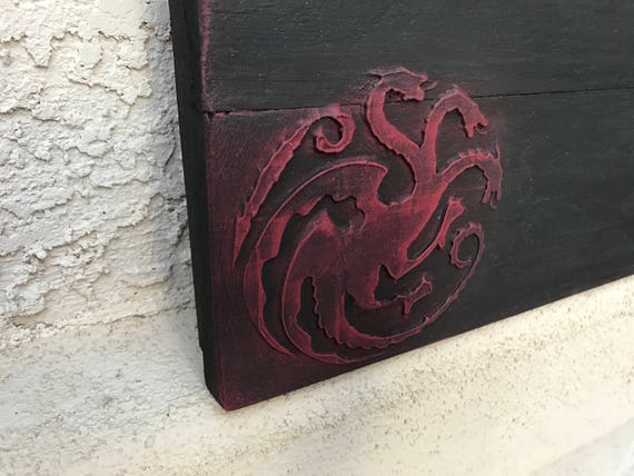 Tyrion Dragón De Madera Reloj Regalo para Hombre Grabada
