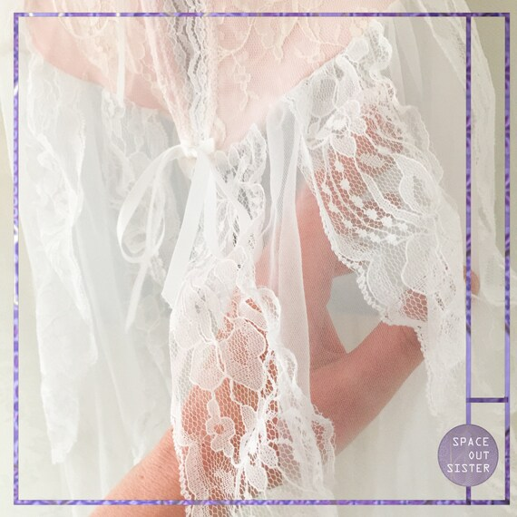 Vintage 1980s Cinderella Ruffles Dress - image 4