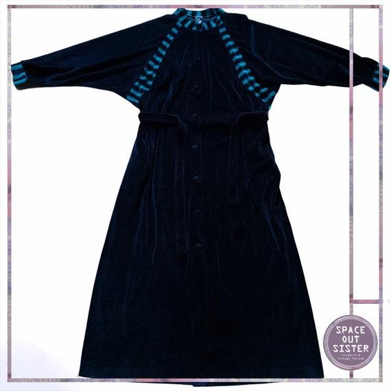 1980s Vintage Miss Yolene Velvet Robe