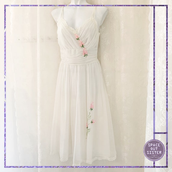1950s Vintage Gotham Nightdress & Robe Peignoir