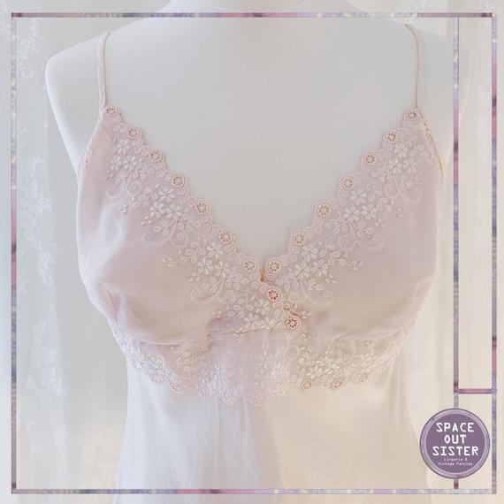 1990s Silk Powder Pink Camisole