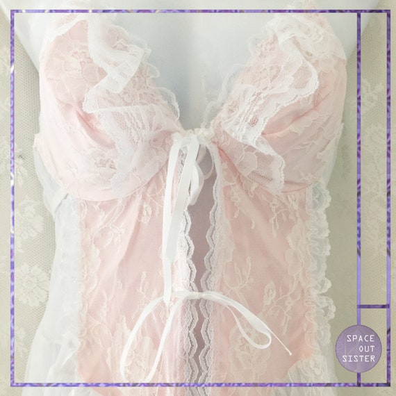 Vintage 1980s Cinderella Ruffles Dress - image 3