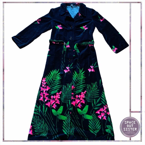 1970s Vintage Gardinia Robe
