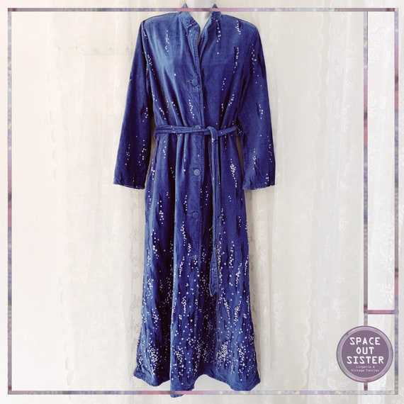1970s Vintage Cawo Cotton Robe