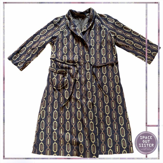 1970s Vintage Terra Robe
