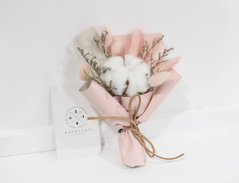 Handmade Small Bouquet/ Preserved Flower and Dried Flower image 0