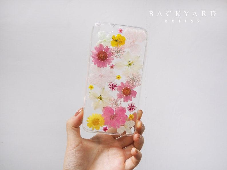 c55c9c905e37c0 Handmade phone case/ pressed flower phone case/ pressed fruit   Etsy