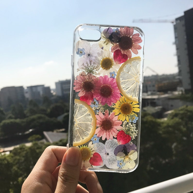 sports shoes 71d48 f6d44 Handmade phone case/ pressed flower phone case/ pressed fruit phone case/  dried flower phone case/ iphone cases/ Samsung cases/ Galaxy cases