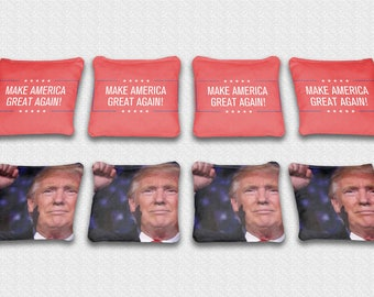 Republican Cornhole Bag Bean Bag Toss American Flag