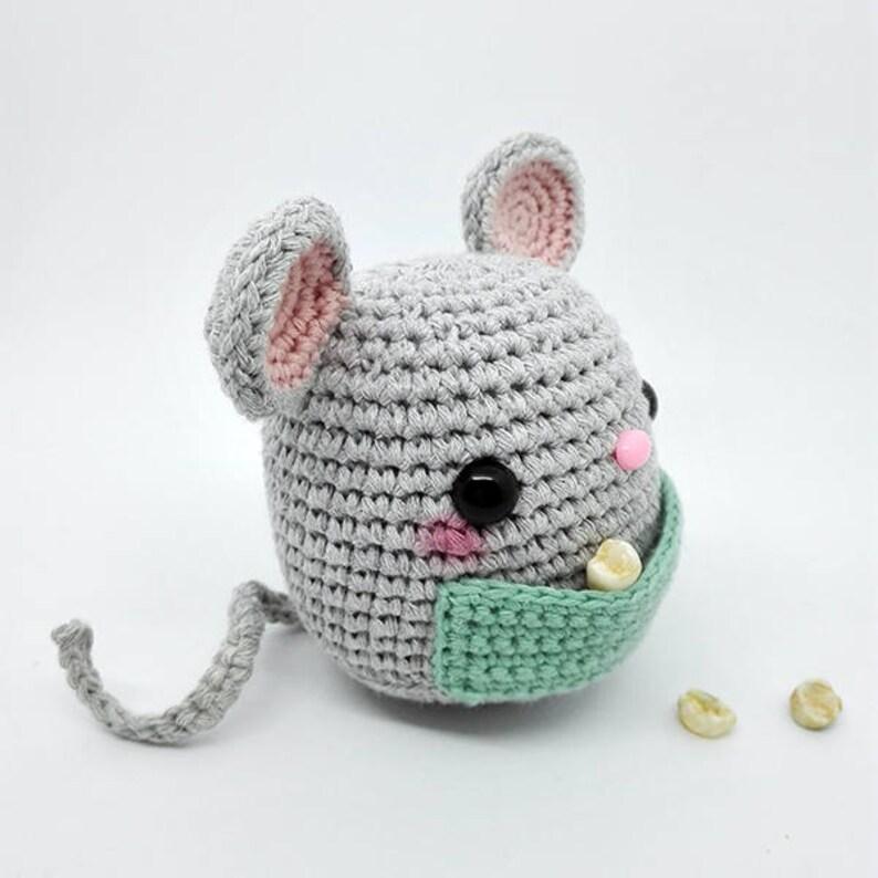 Amigurumi mouse crochet pattern | 794x794