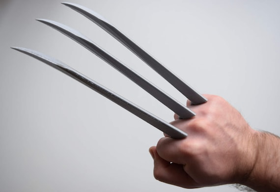 Logan 2017 Set Of Wolverine Claws Movie Accurate 3d Etsy