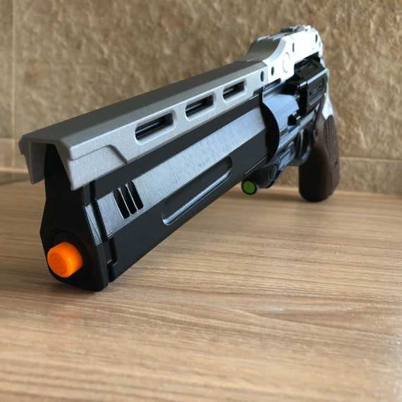 The First Curse Hand Cannon Destiny 3D Printed