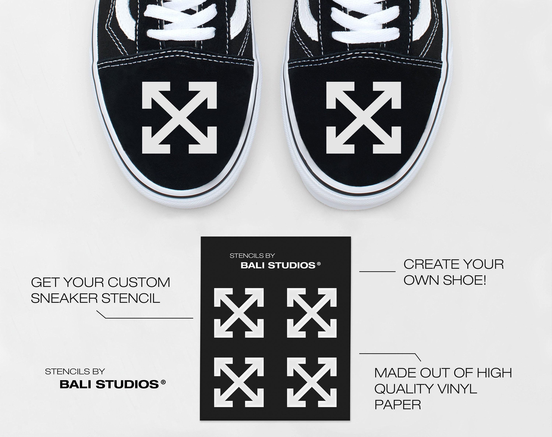 71564b8153 4x CROSS Custom Vinyl Stencil All Sizes EUR