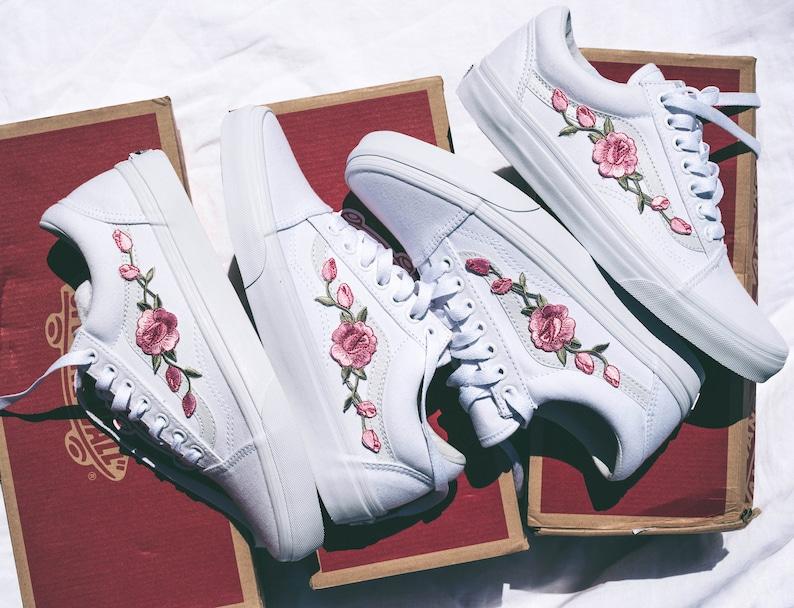 136744b4977 Vans Old Skool Custom  Rose Patch  Rosa EUR 34.5