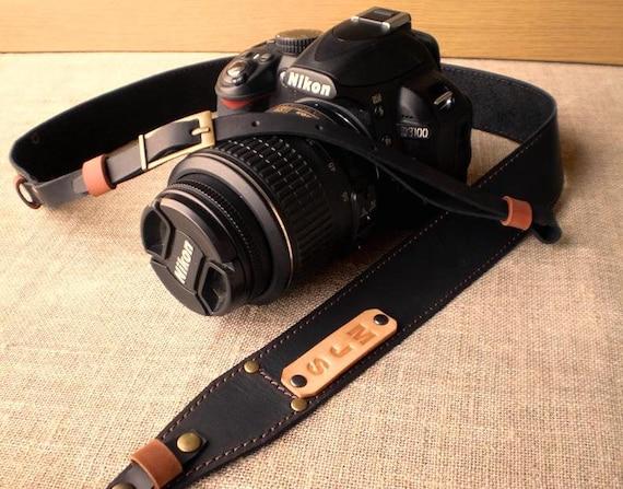 Nikon camera strap Gift for Photographer Camera strap Personalized strap Photographer gift, Canon camera strap Leather Camera Strap