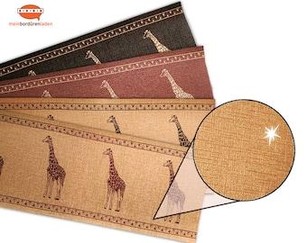 Bronze Metallic - Nonwoven border: Giraffe    Vinyl fleece border with noble metallic - effect   Base price 6.45 Euro/meter