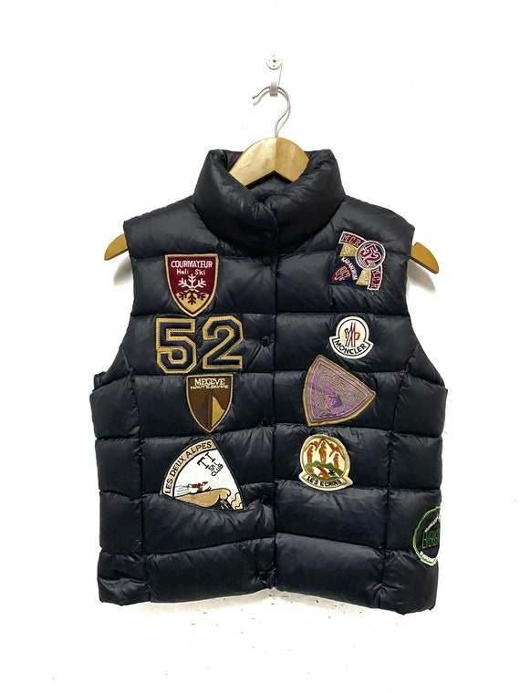 Moncler Puffer Down Vest Jacket Size 1 Small