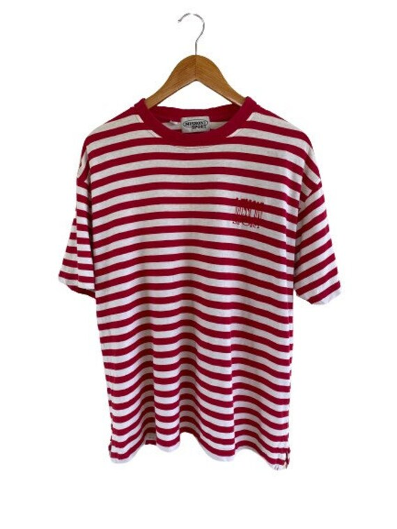 Vintage Missoni Sport Striped Tshirt/ Large Size