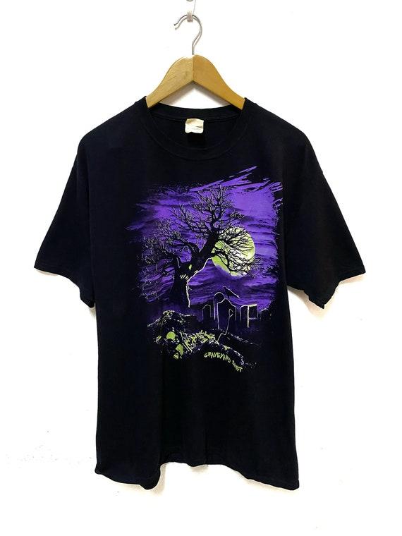 Vintage Graveyard Shift Movie Black Tshirt Large S