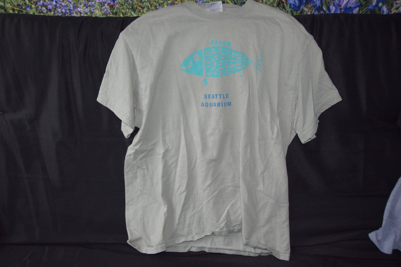 Seattle Aquarium Vintage T Shirt Etsy