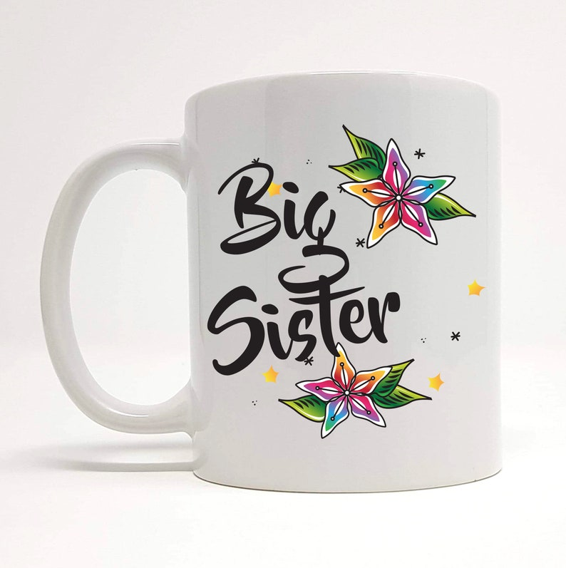 Big Sister Mug Gift Birthday For Older