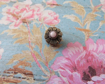 Pink Floral Bead
