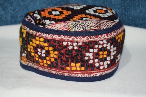 Vintage  hat Handwoven hat Small hat Decorative ha