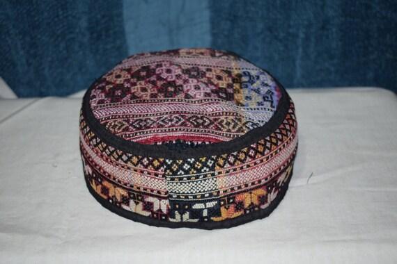 Kurdish Afrin region hat Vintage hat Collection ha