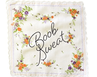 Boob Sweat Handkerchief