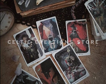 FINAL DAY of SALE - The Original Dragon Age™ Inquisition Tarot with Black Satin Pouch Gift For Him For Her