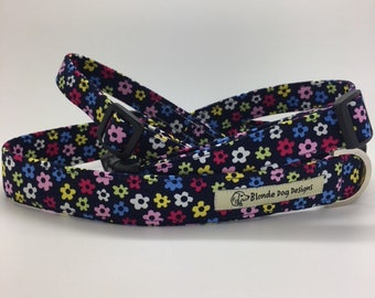 Floral Dog Collar, or, Floral Dog Lead, Hippie Flower