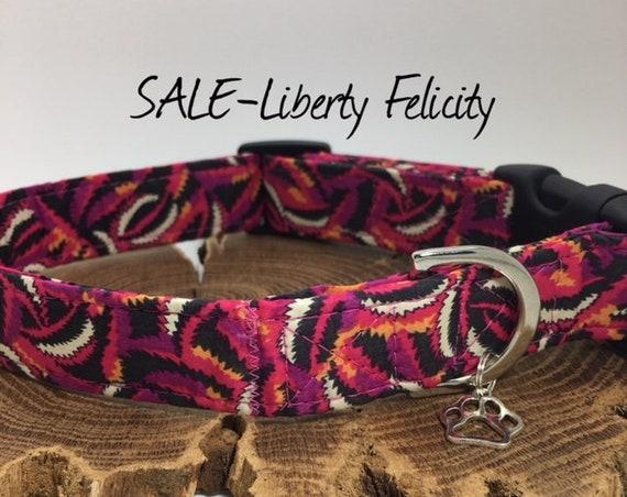 Sale Dog Collar, Felicity, Liberty Dog Collar