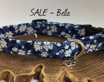 Sale Dog Collar, Bella, Floral Dog Collar
