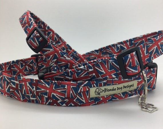 Union Jack Dog Collar, Jack, Flags Dog Collar