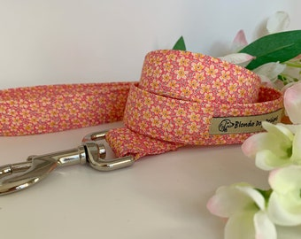 Liberty Dog Lead, Speckle, Floral Dog Leash