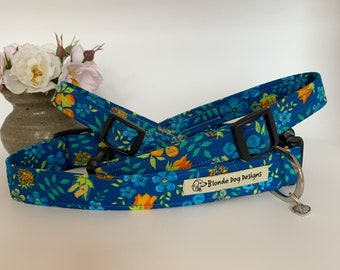 Liberty Dog Collar, Edenham, Floral Dog Collar