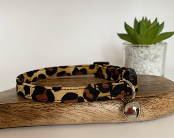 Leopard Print Cat Collar, Little Leopard, Kitty Collar