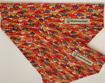 Liberty Dog Bandana, Cars, Luxury Neckerchief