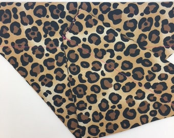 Leopard Dog Bandana, Leopardess, Luxury Bandana